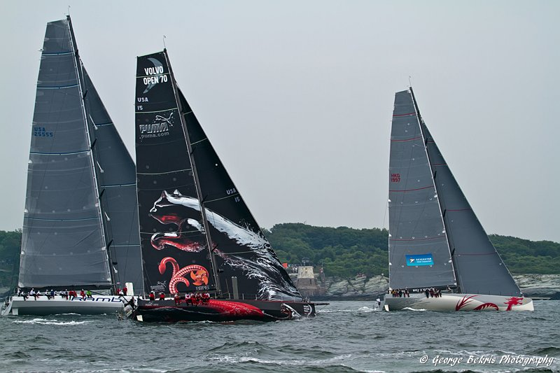 Transatlantic Race Start ( Photo by George Bekris )