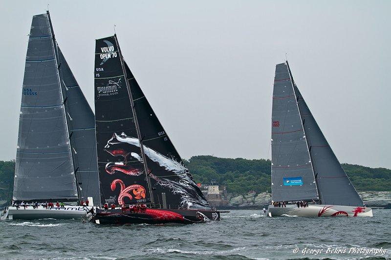Transatlantic Race Start ( Photo by George Bekris )