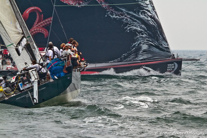 PUMA Ocean Racing's Mar Mostro At Start ( Photo by George Bekris )