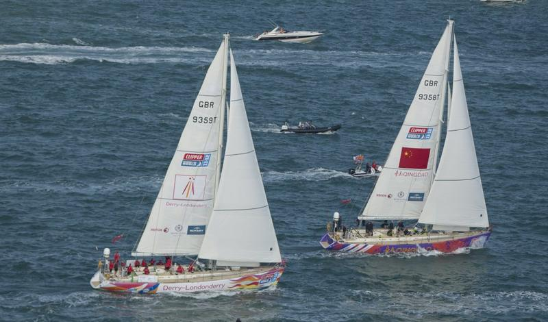 Clipper Round The World Race Start (Photo by onEdition)