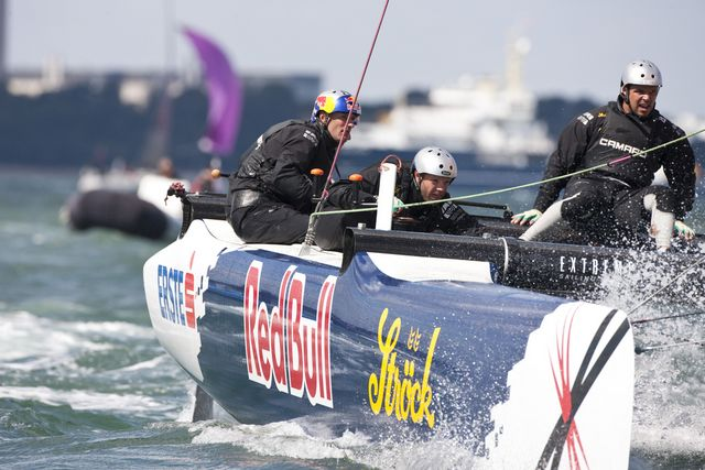 Red Bull Extreme Sailing, skippered by Roman Hagara (Photo by Lloyd Images )
