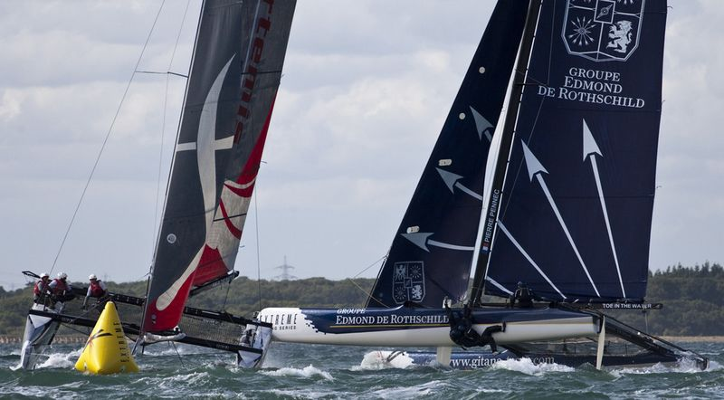 Artemis and Groupe Edmond de Rothschild Crash (Photo by Lloyd Images)
