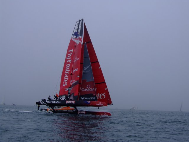 Emirates Team New Zealand (Photo by Colin Merry)