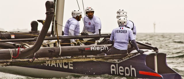 French Crew on Aleph (Photo by James Avery)