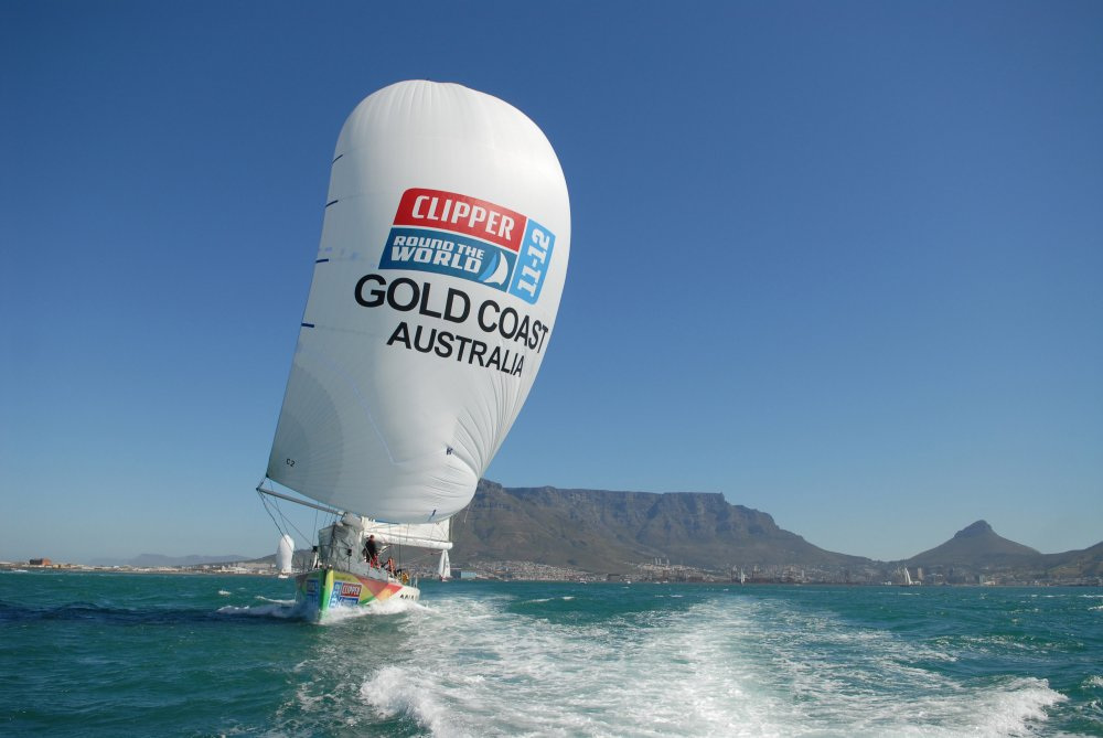 Gold Coast Australia Leaving Cape Town (Photo by Bruce Sutherland/onEdition)