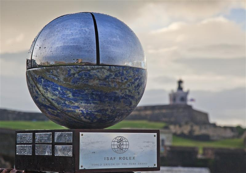 2011 ISAF Rolex Sailor Of The Year Trophy (Photo by Rolex /  Daniel Forster)