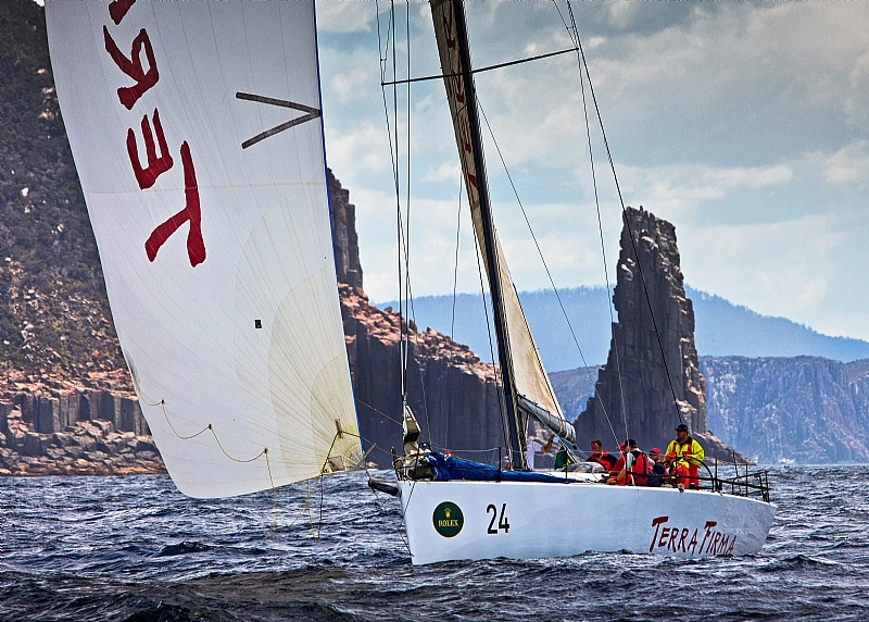 Terra Firma In 2010 Sydney Hobart (Photo by Rolex / Daniel Forster)