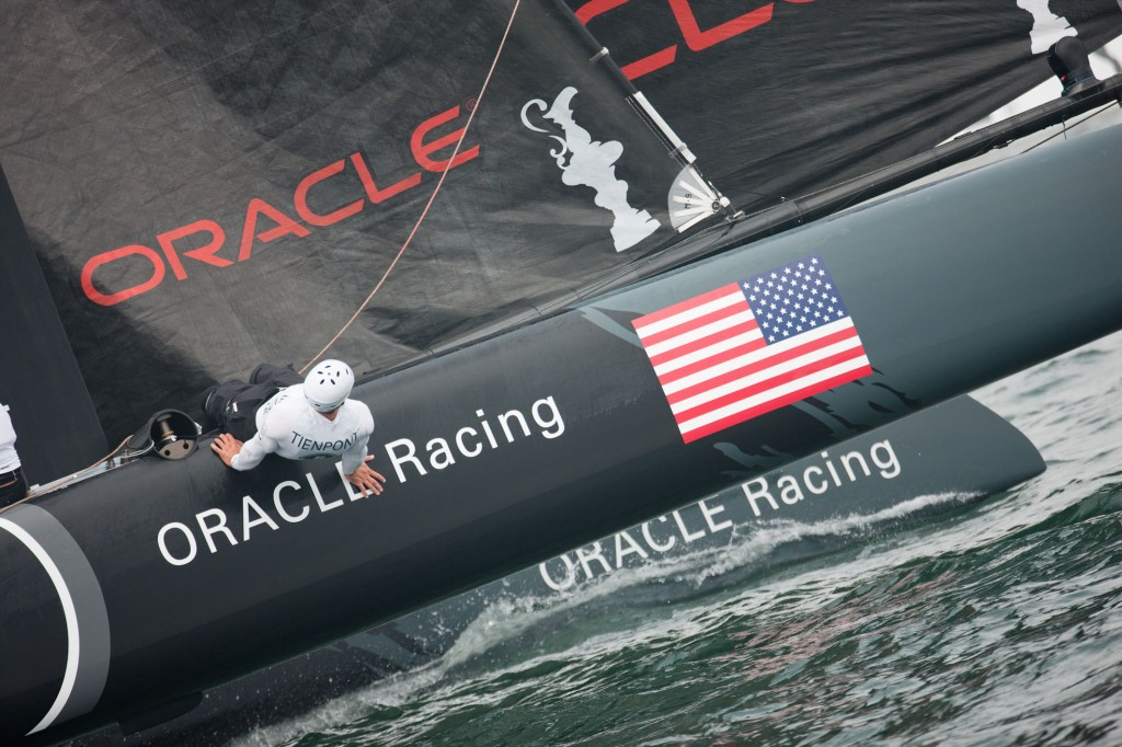 Oracle Racing in San Diego Match Racing (© 2011 ACEA/Gilles Martin-Raget)