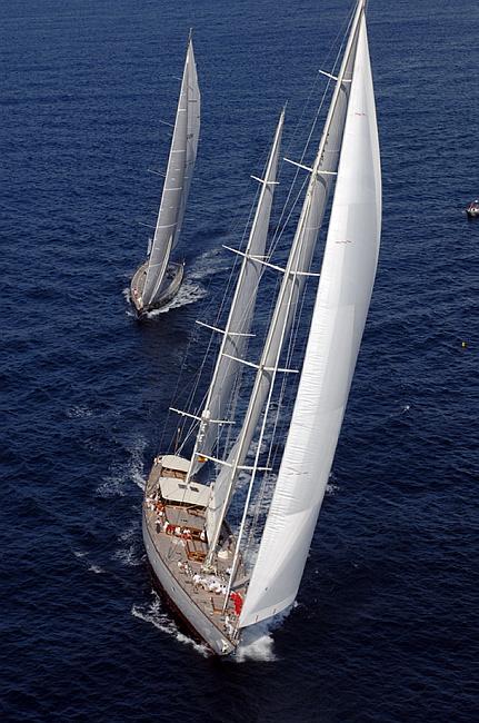 Adele in Superyacht Cup Palma (Photo Courtesy of SYAdele.com)