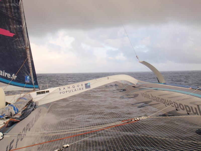 Banque Populaire V enters the North Atlantic (Photo courtesy of BPCE)