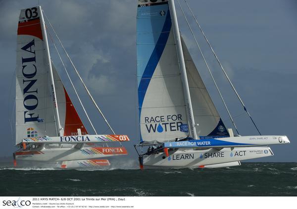 2011 KRYS MATCH- 6/8 OCT 2001 La Trinite sur Mer (FRA) , Day1