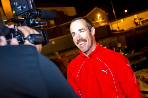 Amory Ross, MCM for Puma Ocean Racing (Photo courtesy of Volvo Ocean Race)