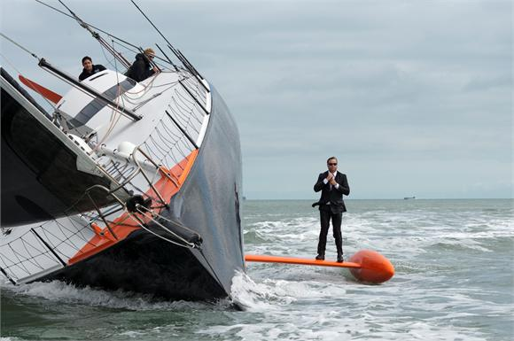 Alex Thomson Keel Walking A Second Time (Photo by Lloyd Images)