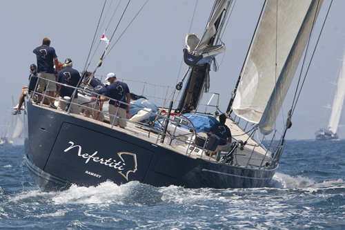 Nefertiti during 2011 Superyacht Cup Palma (Photo courtesy of Superyacht Cup)