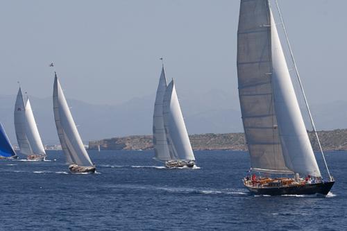 Superyacht Cup Palma 2011 Fleet (Photo courtesy of Superyacht Cup)
