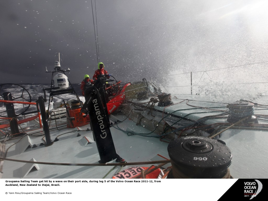 Geoupama (Photo by Yann Riou / Groupama / Volvo Ocean Race )