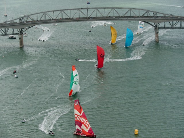 Volvo Ocean Race stop over Auckland, New Zealand, March 2012 (Photo by Paul Todd / Volvo Ocean Race)