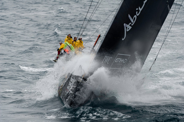 Team Abu Dhabi at leg 5 start Volvo Ocean Race stop over Auckland, New Zealand, March 2012 (Photo by Paul Todd / Volvo Ocean Race)by Paul Todd