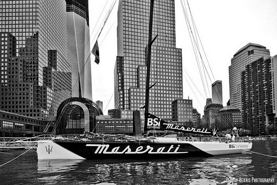 Maserati at North Cove NYC (Photo by George Bekris)