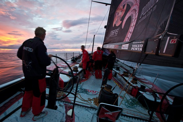 PUMA Ocean Racing powered by BERG during leg 4 of the Volvo Ocean Race 2011-12, from Sanya, China to Auckland, New Zealand. (Photo by  Amory Ross / PUMA Ocean Racing/Volvo Ocean Race)