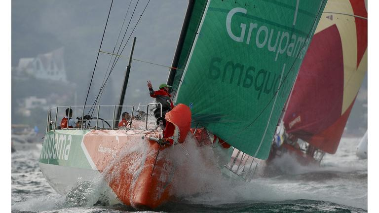 Itajai In-Port - Groupama 4 © Yvan Zedda
