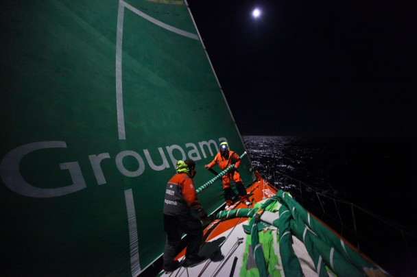 Groupama 4 Leg 5 (Photo by  Yann Riou / Groupama 4 / Volvo Ocean Race)