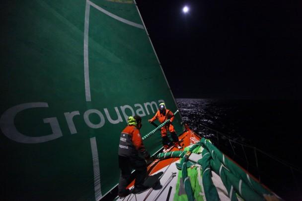 Groupama 4 Leg 5 (Photo by  Yann Riou / Groupama 4 / Volvo Ocean Race)