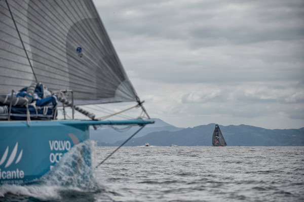 Volvo Ocean Race stop over Itajai, Brazil, April 2012 (Photo by PAUL TODD/Volvo Ocean Race)