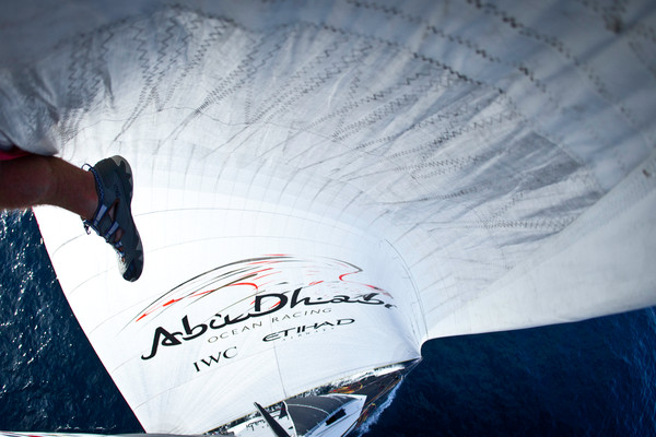 onboard Abu Dhabi Ocean Racing during leg 6 of the Volvo Ocean Race 2011-12, from Itajai, Brazil, to Miami, USA. (Credit: Nick Dana/Abu Dhabi Ocean Racing/Volvo Ocean Race)