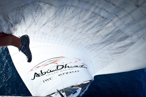 onboard Abu Dhabi Ocean Racing during leg 6 of the Volvo Ocean Race 2011-12, from Itajai, Brazil, to Miami, USA. (Credit: Nick Dana/Abu Dhabi Ocean Racing/Volvo Ocean Race)