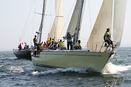 Block Island Race  (Photo courtesy of Storm Trysail Club)