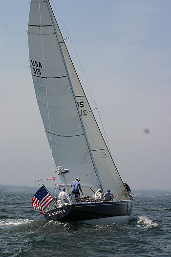 Carina Block Island Race (Photo courtesy of Storm Trysail Club)