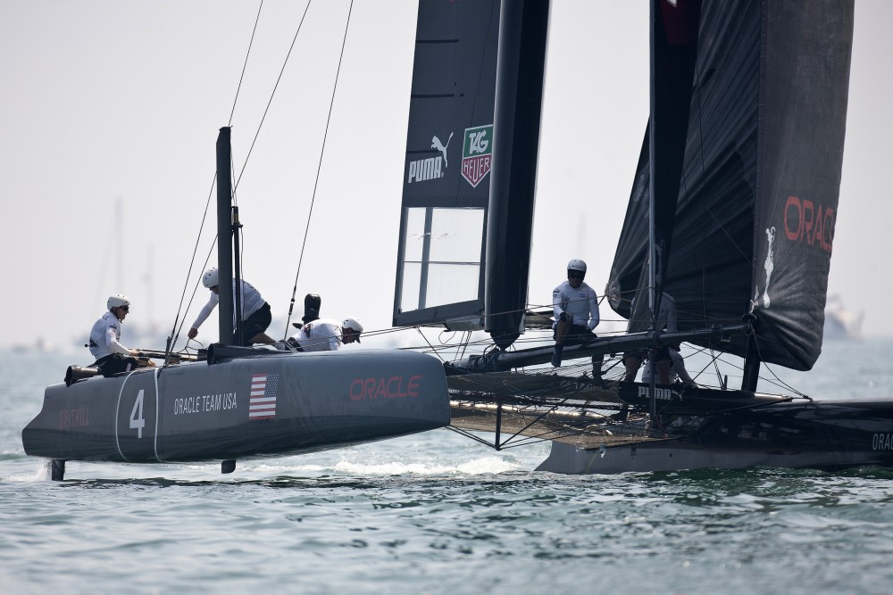 Spithill and Oracle Team USA (Photo © Guilain Grenier/ORACLE TEAM USA)