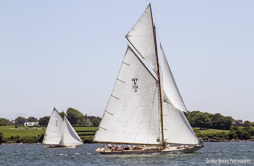 NYYC Around the Island Race (Photo by George Bekris)
