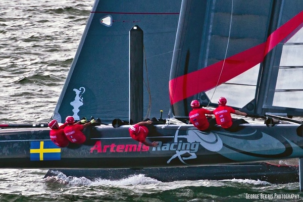 Artemis AC45 in Newport (Photo by George Bekris)