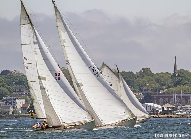 NYYC Round the Island Race 2012 (Photo by George Bekris)