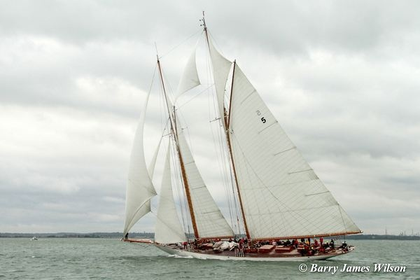 Largest in the fleet Eleonora (Photo by Barry James Wilson)