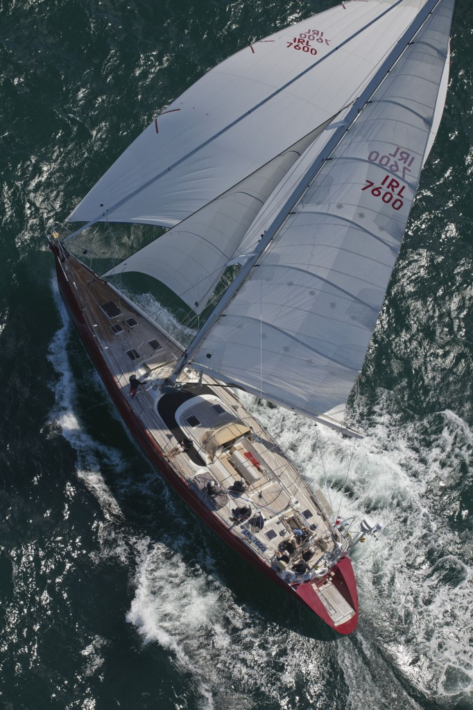 Lilla - IRL 7600 - CNB Briand 76 yacht skippered by Simon De Pietro (Photo by Daniel Forster/PPL)
