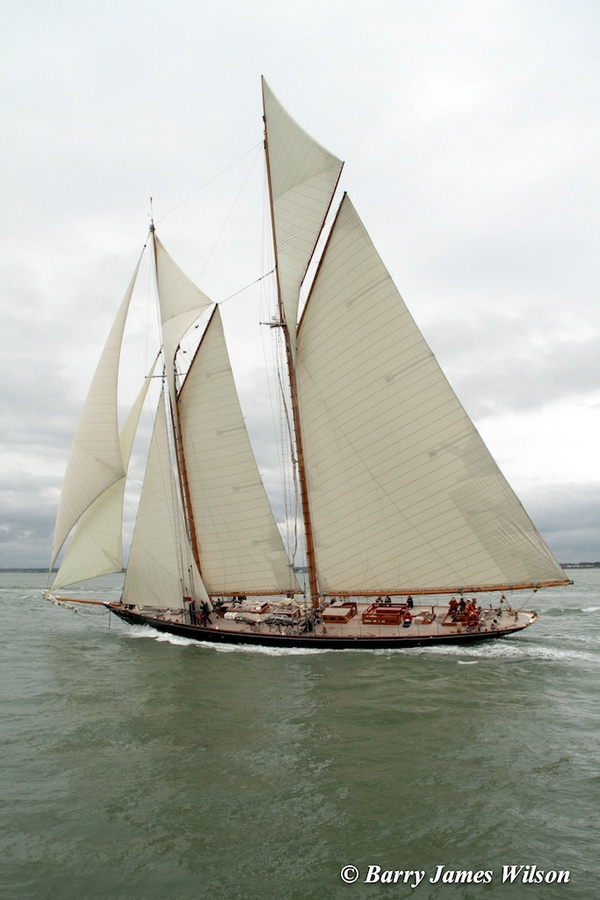 Mariette in the Westward Cup (Photo by Barry James Wilson)