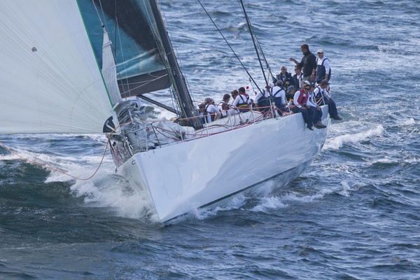 Med Spirit - FRA 1575 - Welbourn 92 maxi skippered by Michael D'Amelio.(Photo by Daniel Forster/PPL)