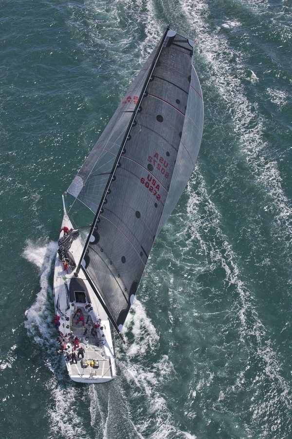 Shockwave - USA 60272 - a mini maxi yacht skippered by George Sakellaris (Photo by  Daniel Forster / PPL)