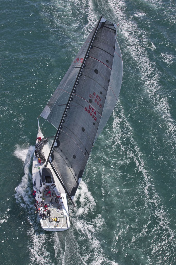 Shockwave - USA 60272 - a mini maxi yacht skippered by George Sakellaris (Photo by  Daniel Forster/PPL)