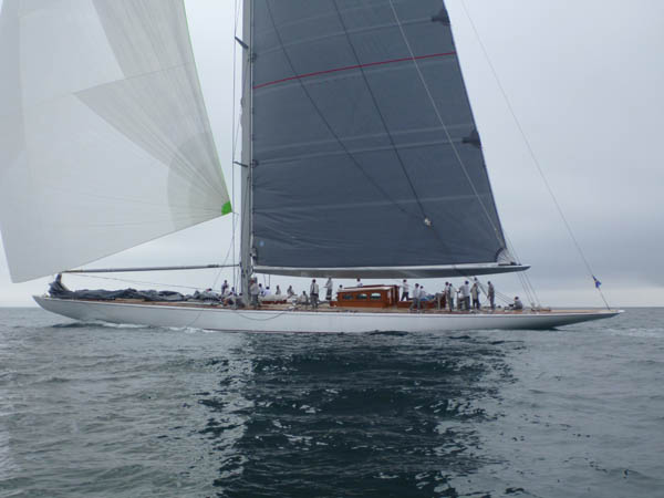 Ranger In UK J-Class Regatta 2012 (Photo courtesy of J-Class Association)