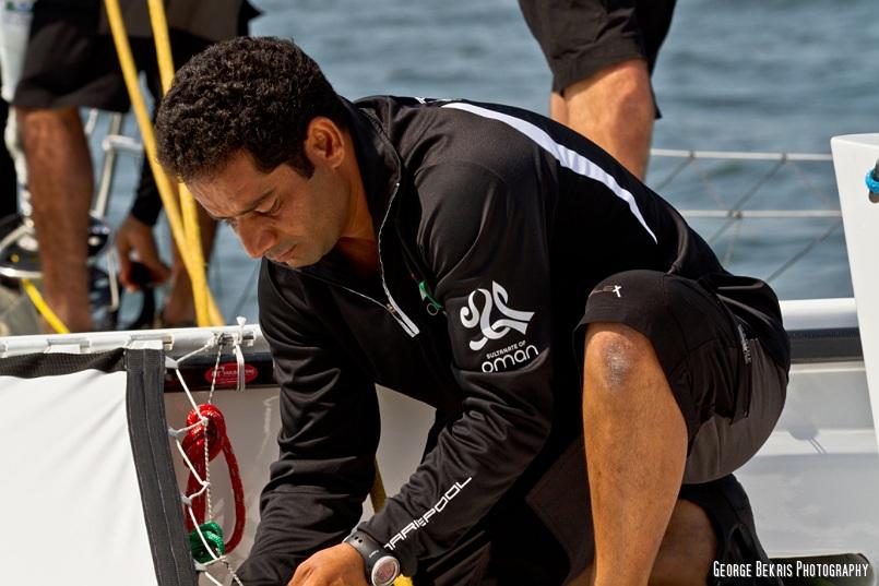 Mohsin Al Busadi (Photo by George Bekris)
