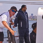 Skipper Sidney Gavignet (Photo by George Bekris)