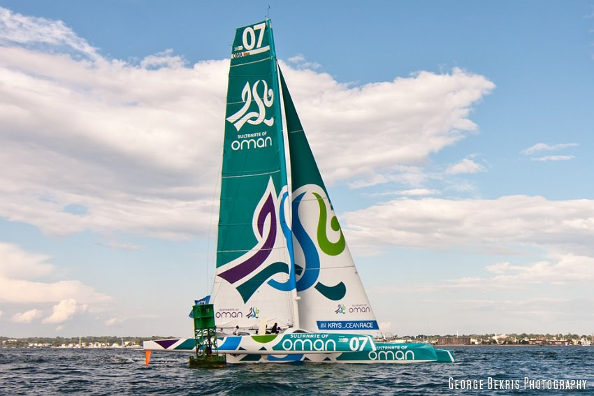 Oman Sail at start of the KRYS Prologue Race (Photo by George Bekris)