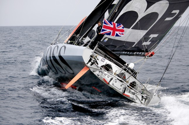 Alex Thomson on Hugo Boss smashes Transatlantic Record