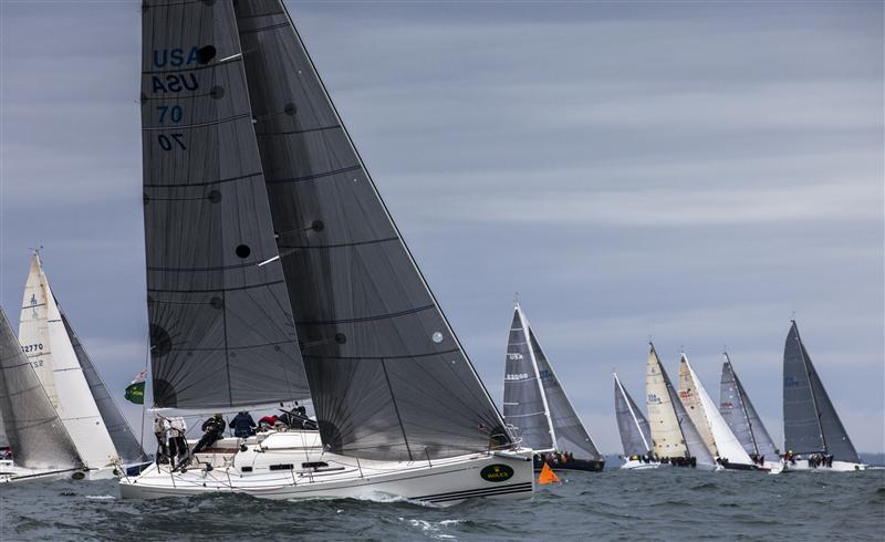 Class IRC 4 Start Pendragon ( Photo by Rolex / Daniel Forster)