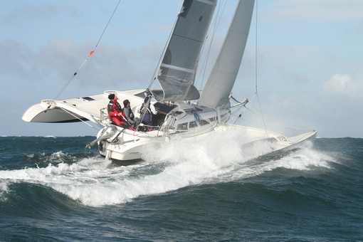 J.P. Morgan Asset Management Round The Island Race 2012 by Barry James Wilson