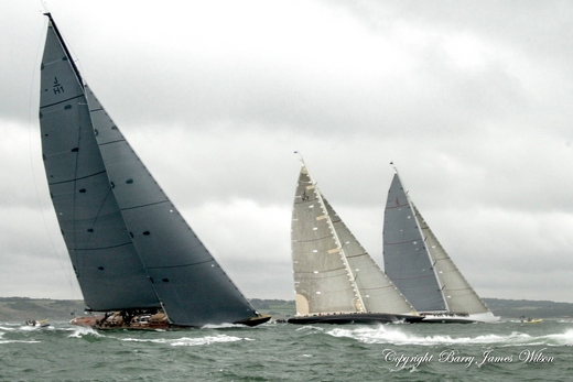 J Class Wednesday Fleet by Barry James Wilson
